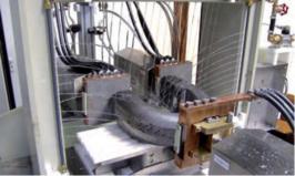 Система МПД для контроля деталей дугообразной формы